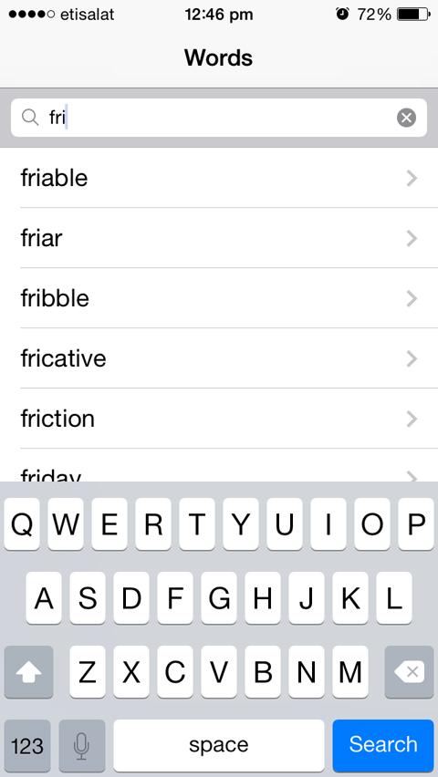 English Hindi Dictionary App for iOS
