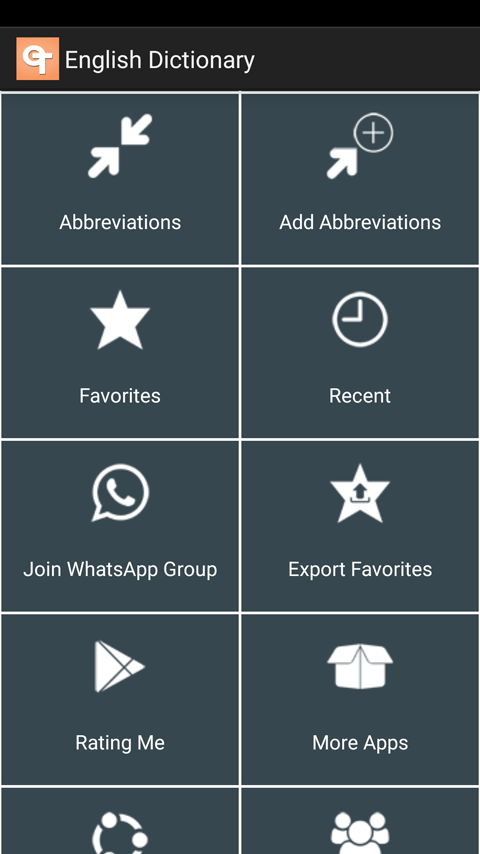 English Dictionary App for Android